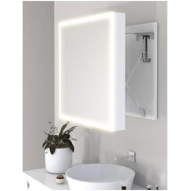 Vonios kambario veidrodis Com Miior (atitraukiamas)
