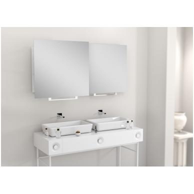 Vonios kambario veidrodis Luk Miior (atitraukiamas)