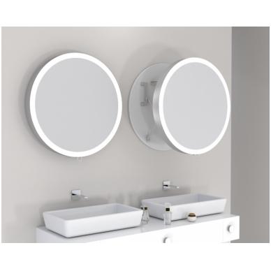 Vonios kambario veidrodis Moon Miior (atitraukiamas)