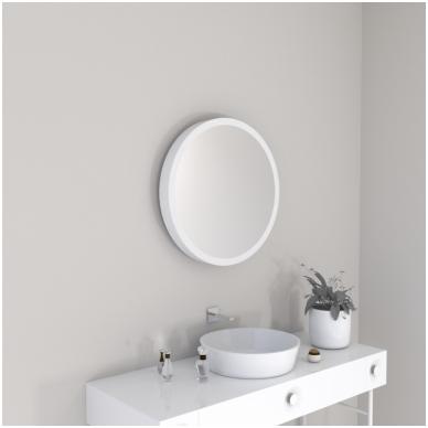 Vonios kambario veidrodis Pin Miior (atitraukiamas) 4