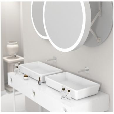 Vonios kambario veidrodis Pin Miior (atitraukiamas) 5