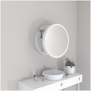 Vonios kambario veidrodis Pin Miior (atitraukiamas) 3