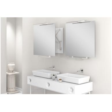 Vonios kambario veidrodis Top Miior (atitraukiamas) 2