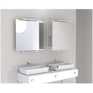 Vonios kambario veidrodis Top Miior (atitraukiamas)