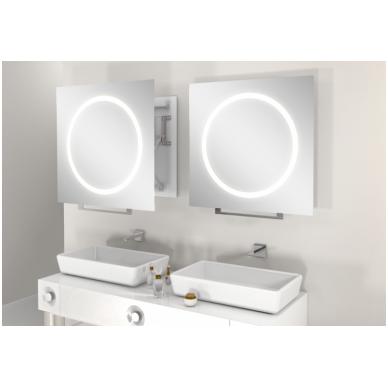 Vonios kambario veidrodis Win Miior (atitraukiamas)