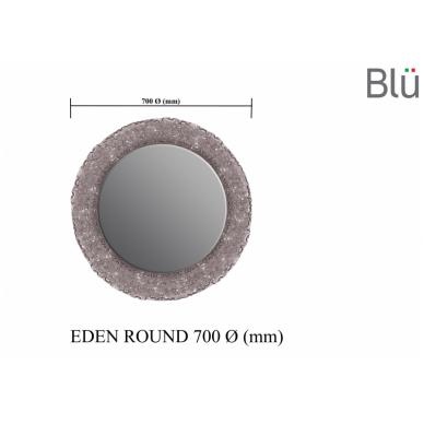 Vonios veidrodis Blu EDEN Round 3
